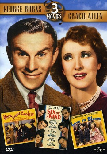 Price comparison product image George Burns & Gracie Allen Collection (Here Comes Cookie / Love in Bloom / Six of a Kind) [DVD] [Region 1] [US Import] [NTSC]