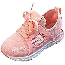 Dragon868 Kinder Sneaker Jungen Mädchen Kinder Brief Soft Sport Laufschuhe Baby Mesh Schuhe
