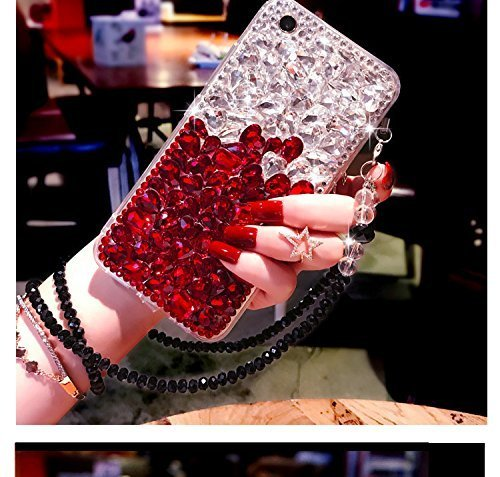 Samsung Note 8Jeweled Fall, Luxus Bling Strass Full Diamond Schutzhülle für Samsung Galaxy Note 8Glitter Shinny Cover Case Hülle, A4 Jeweled Bling Case