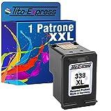 PlatinumSerie® 1x Druckerpatrone für HP 338 XL Black PSC 1510 2355P 2355V 2355XI 2600 2610 2710