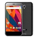 NOMU S20 Outdoor Smartphone 4G ohne Vertrag Android 6.0OS 5.0 Zoll Quad Core1.5GHz 3GB RAM 32GB ROM 13.0MP Kamera 3000mAh IP68 Wasserdicht Outdoor Handy - Schwarz