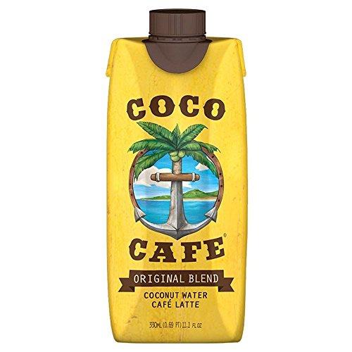 Coco Café L'eau de coco & Cafe Latte (330ml) - Paquet de 6