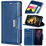 HTC U12 Life Case, HTC U12 Life Cover Thin Flip Cover Case Skin Cell Phone Cases Phone Case Compatible With HTC U12 Life By Codream (Blue)