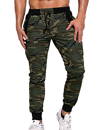 StyleDome Camouflage Jogginghose