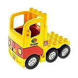 1 x Lego Duplo Fahrzeug LKW gelb rot mit Kabine Octan Laster Auto Lastwagen Zugmaschine für Set Tankwagen 5605 1326c01 48125c04pb01