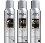 Loreal Crepage de Chignon Wild Stylers 3 x 200 ml Tecni.art Styling Mineral-Puder Neue Serie