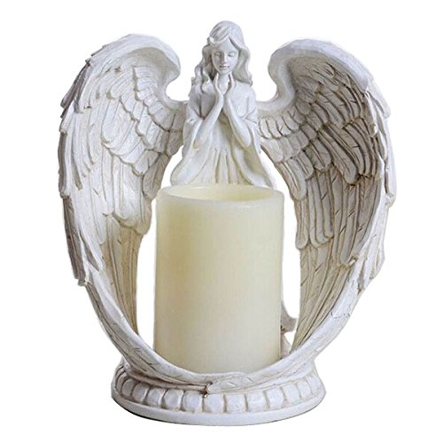 Praying Angel Wings Figurine Sta...