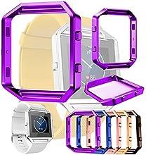 Para Fitbit Blaze,Xinantime Reloj Marco de metal Watch Metal Frame