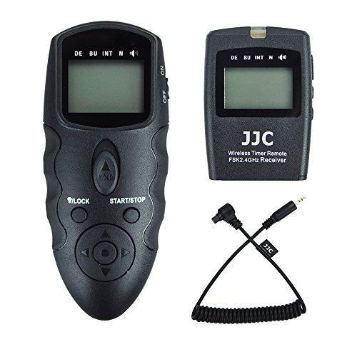 JJC Télécommande de Sans fil Déclencheur à Distance Intervallometre pour Canon EOS 5D Mark IV III II 5D 6D 6D Mark II 7D 7D Mark II 1D 1D Mark IV III II 1DS 1DX appareil photo