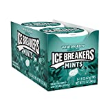ICE BREAKERS Mints (Wintergreen, Sugar Free,1.5-Ounce Containers, Pack of 8) by Ice Breakers