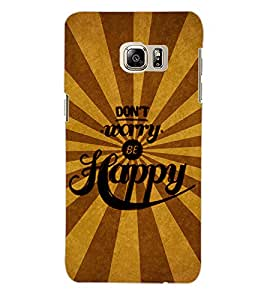 ColourCraft Quotes Back Case Cover for SAMSUNG GALAXY NOTE 5 EDGE