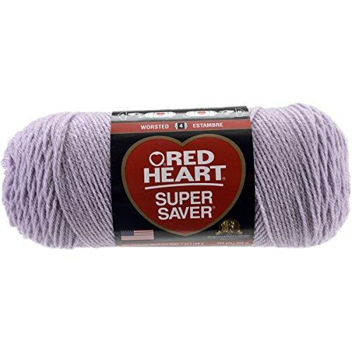 Red Heart Super Saver Yarn-Pale Plum (Pale Plum)