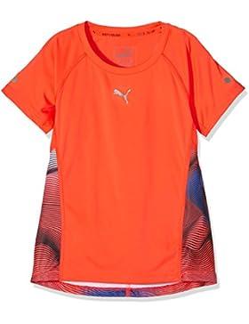 Puma–Camiseta infantil Active Dry Entrenamiento té g, red Blast de AOP, 128, 83888910