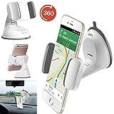 Handy / Smartphone halterung | für ALDI Medion Life E4506 | Auto halter | Büro Halter | Multifunktional | AUT-Weiß