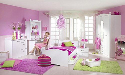 Rauch Kinderzimmer Jugendzimmer Lilly 7-tlg. Komplett Set in weiss