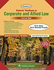 Students Handbook on Corporate and Allied Law: For CA Final Old Syllabus