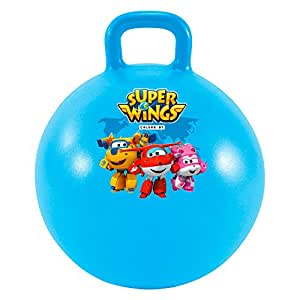 Super Wings ColorBaby 77016 Ballon Sauteur Diamètre 45 cm