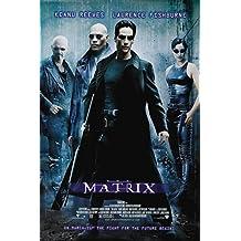 """Poster della locandina cinematografica del film """"Matrix"""". Dimensioni: 30,48 cm x 20,32 cm"""