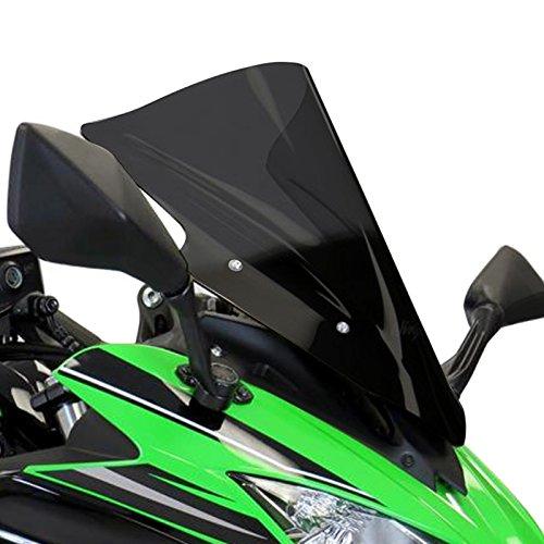 Preisvergleich Produktbild Racingscheibe Bodystyle Kawasaki Ninja 650 17-18 schwarz getönt (durchsichtig)