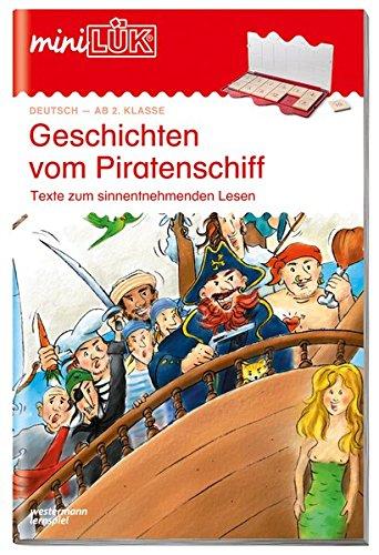 miniLÜK: Geschichten vom Piratenschiff: Texte zum sinnentnehmenden Lesen ab Klasse 2