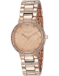 Giordano Analog Rose Gold Dial Women's Watch - P2052-44