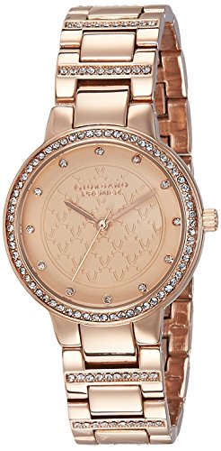 Giordano Analog Rose Gold Dial Women's Watch - P2052-44