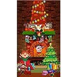 musykrafties Weihnachtliche Wanddekoration Kamin Kamin Hintergrund Fotografie Hintergrund