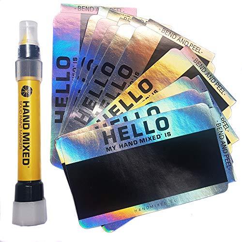 Egg Shell Stickers Eierschalen-Aufkleber, handgemischt, Splitter-Set, Hologramm, Eierschalen-Aufkleber, Graffiti Street Art -