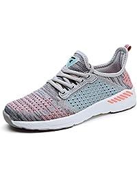 SUADEEX Hombre Mujer Zapatillas de Deportes Zapatos Para Correr Deportivos Zapatillas de Running