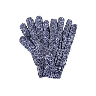 HEAT HOLDERS Damen 1 Paar Heatweavergarn Handschuhe mit Wärmerückhaltungswert 2,3 - Marine S/M