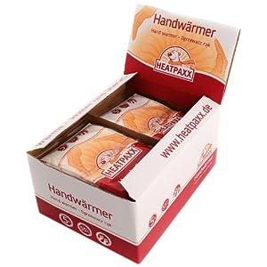 HeatPaxx Handwärmer-/Handliche Taschenwärmer (für unterwegs – endlich wieder warme Hände – 40 x 2 Heizkissen im praktischen Vorteilspack)