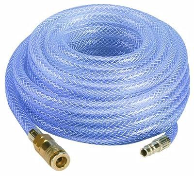 Einhell Gewebeschlauch passend für alle gängigen Kompressoren (Länge Schlauch 15 m, Innendurchmesser Schlauch 9 mm, Arbeitsdruck 10 bar)