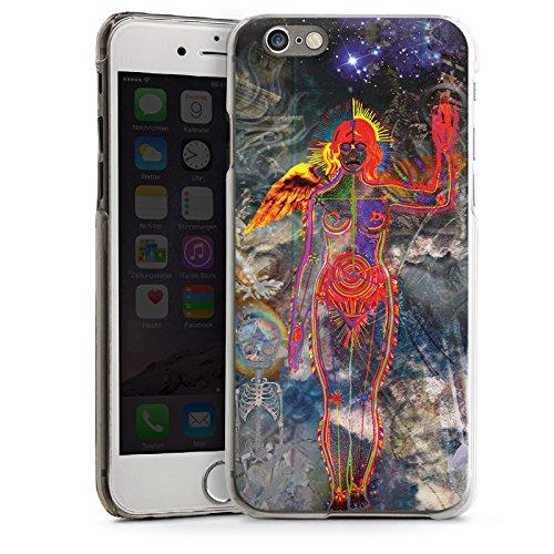 Apple iPhone 6 Housse Étui Silicone Coque Protection Galaxie Galaxie Univers CasDur transparent