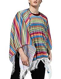 FENICAL Disfraz de fiesta de disfraces de disfraces mexicanos de Halloween  Disfraz de disfraces de colores 3026cfdea684