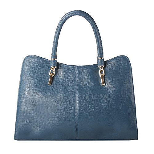 Yy.f Nuovo Primo Strato Di Cuoio Borsa Di Cuoio Spalla Mobile Big Bag Diagonale Pratico Interna Multicolore Pink