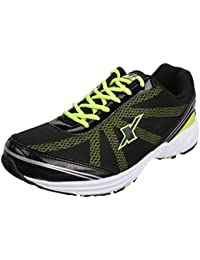 f378f1bbcdd4 Sparx Men s Black Fluoresce Green Colour SM260 Series Synthetic and Nylon  Mesh Sports Shoes 7UK