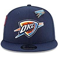 new product 754c8 ba688 New Era Oklahoma City Thunder 2018 NBA Draft 9FIFTY Snapback Cap Navy