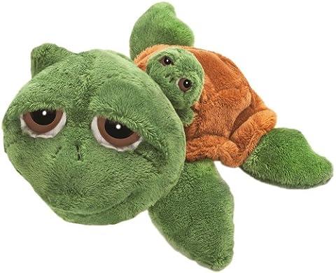 Suki Gifts Li'L Peepers Mummy and Baby Rocky Turtle Soft Boa Plush Toy (Green/ Brown)