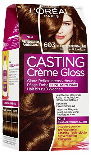 L'Oréal Paris Casting Crème Gloss Glanz-Reflex-Intensivtönung 603 in Chocolate Praliné