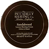 Piccadilly Shaving Co 180 g Sandalwood Shaving Cream Bowl