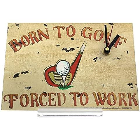 orologio dello scrittorio Motivo Nostalgico Nato a golf