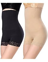 WhiFan Mujer Braga Faja Reductora Braguitas Moldeadora Invisible para Faja Pantalón Cintura Alta Body Moldeador Abdomen Shapewear