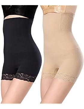 WhiFan Mujer Braga Faja Reductora Braguitas Moldeadora Invisible para Faja Pantalón Cintura Alta Body Moldeador...