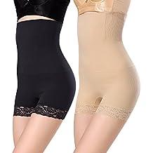 WhiFan Mujer Braga Faja Reductora Braguitas Moldeadora Invisible para Faja Pantalón Cintura Alta Body Moldeador Abdomen