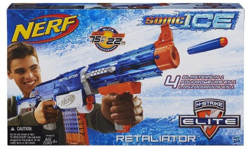 Preisvergleich Produktbild Nerf A4916 N-Strike Elite Retaliator Sonic Ice 4in1 Der Verwandlungs-Blaster