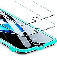 ESR [2 Pack] iPhone 8 Plus / 7 Plus Screen Protector, [Free Installation Frame], Premium Tempered Glass Screen Protector for iPhone 8 Plus/iPhone 7 Plus 5.5''