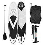 Klarfit Spreestar • Standup Paddle Board • Paddelboard • schwarz-weiß