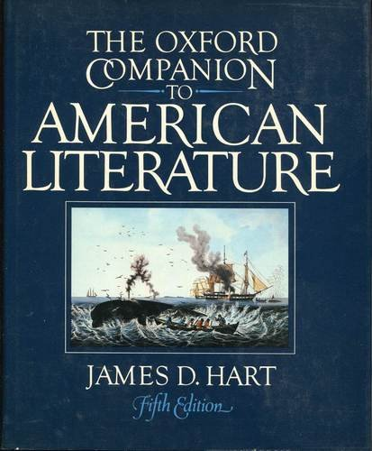 the-oxford-companion-to-american-literature