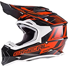 0200-015 - Oneal 2 Series RL Manalishi Motocross Helmet XL Black Orange