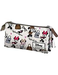 Karactermania Disney Classic Minnie Fashion Estuches, 24 cm,  Blanco